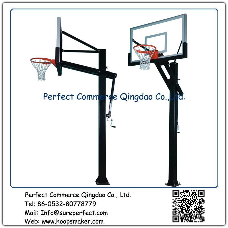 Outdoor Basketball System Basketball Goal GSC660 - copy