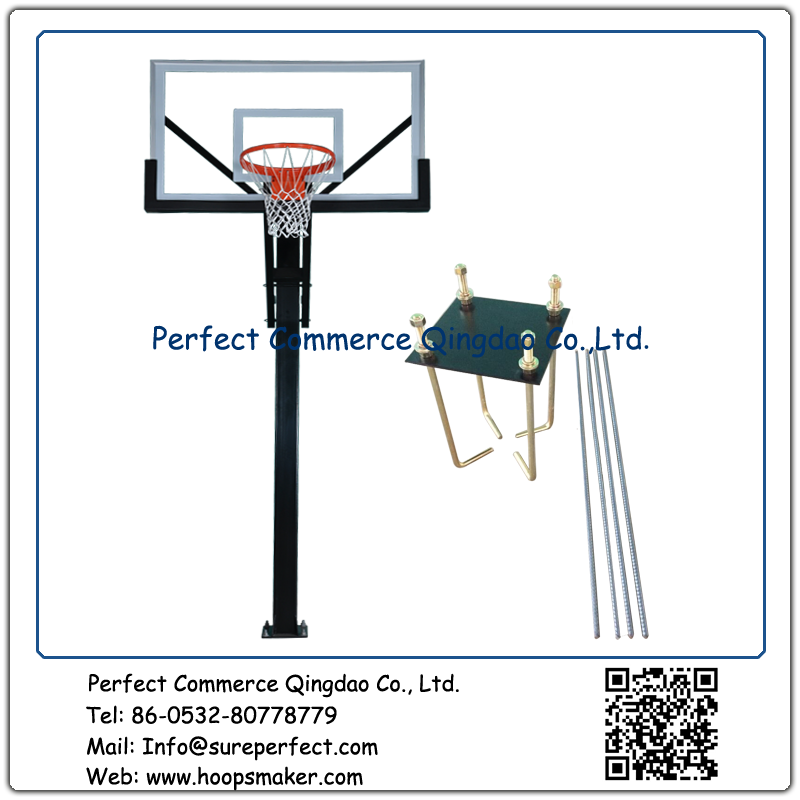 Outdoor Adjustable Basketball Goal Basketball Stand GSC554 - copy